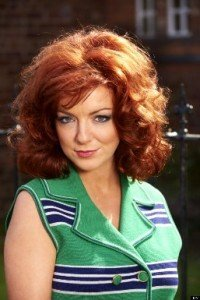 Sheridan Smith playing the role of Mrs Biggs