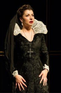 Frances McNamee as Cassandra in Punishment Without Revenge. Photo Credit Jane Hobson