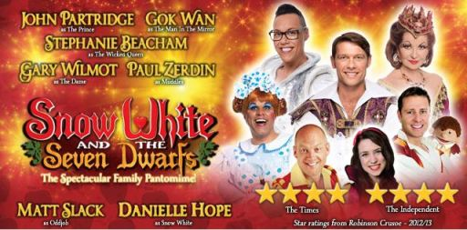 Snow White and the Seven Dwarfs at Birmingham Hippodrome