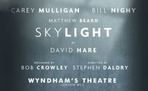 Skylight starring Bill Nighy and Carey Mulligan