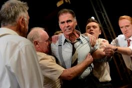 Jeff Fahey and cast of Twelve Angry Men