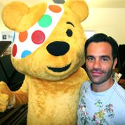 Ramin Karimloo and Pudsey