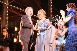Andrew Lloyd Webber with Love Never Dies Cast Japan