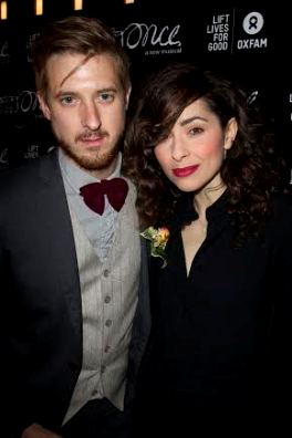 Arthur Darvill and Zrinka Cvitesic at the Once Gala.