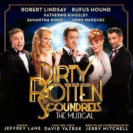 Dirty Rotten Scoundrels Leading Cast
