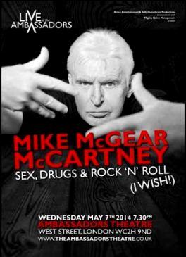 Mike McGear McCartney