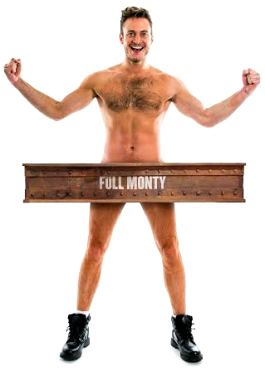 Gary Lucy starring in The Full Monty