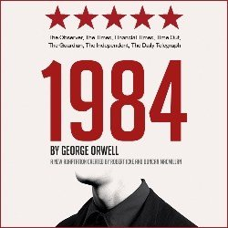 1984 By George Orwell Poster