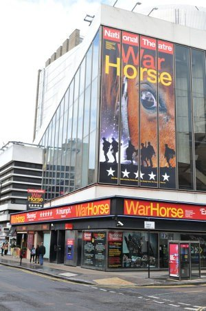 New London Theatre with War Horse showing