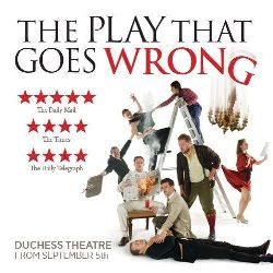 The Play That Goes Wrong Duchess Theatre London