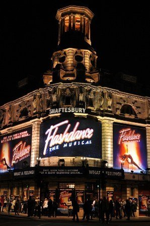 The Shaftesbury Theatre London