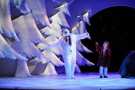The Snowman Stage Photo