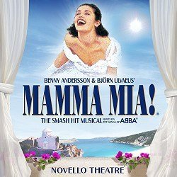Mamma Mia! Musical at Novello Theatre