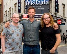 Tim Minchin and Dennis Kelly introduce Craige Els