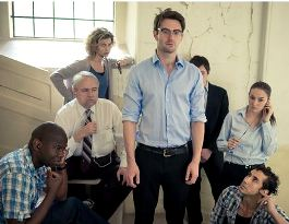 Ben Fisher as Edward Snowden and cast