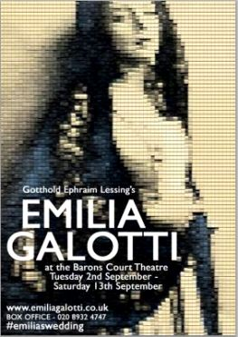 Emilia Galotti at Baron's Court Theatre