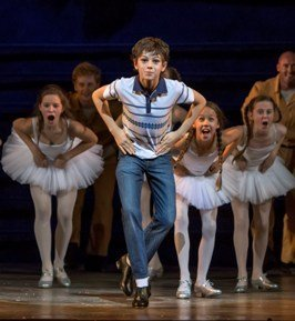 Elliott Hanna (Billy Elliot) Billy Elliot The Musical Live, photo by Adam Sorenson