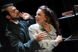 Karl Niklas (Faraj_Badal farajov) and Stephanie Harte (Nergile)