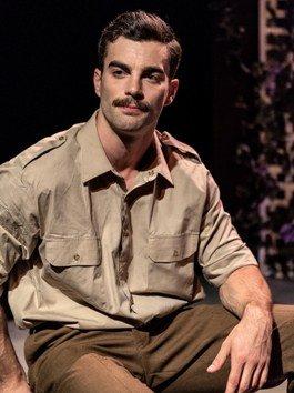 The Return of the Soldier, Tristan Bates Theatre, Stewart Clarke, 2014. Courtesy Darren Bell