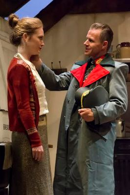 Olivia Hallinan and Mark Letheren in Lotty's War UK tour
