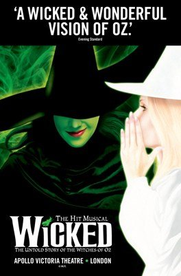 Wicked at Apollo Victoria Theatre London