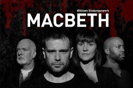 Leading cast of Macbeth Mercury Theatre Colchester