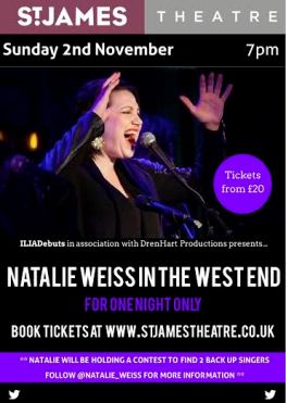 Natalie Weiss in Concert