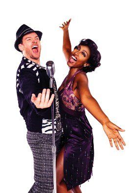 Killian Doinnelly and Beverley Knight in Memphis The Musical