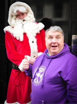 Santa Claus with Russell Grant
