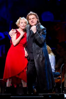 1. Emma Thompson (Mrs. Lovett) and Bryn Terfel (Sweeney Todd). Photo Credit Chris Lee