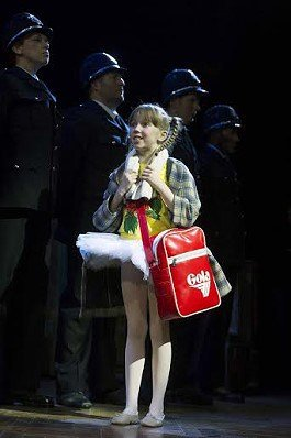 Connie Fisher (Debbie) in Billy Elliot the Musical at the Victoria Palace Theatre.