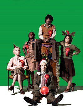 The Cast of Hope at Royal Court Theatre