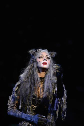 Nicole Scherzinger (Grizabella) in Cats at the London Palladium.