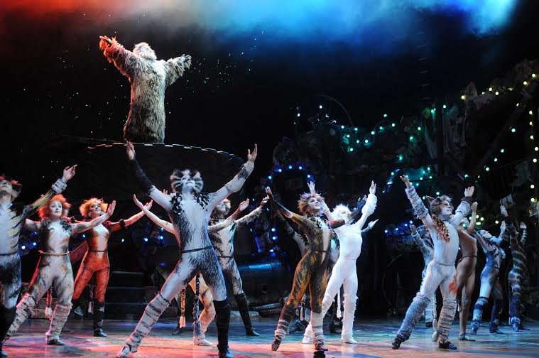 The West End cast of Cats at the London Palladium. Photo credit Alessandro Pinna