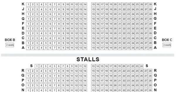 Phoenix Theatre London Seating Plan Reviews Seatplan