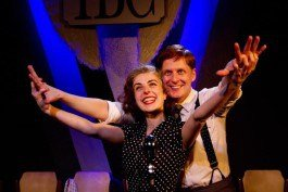 Its A Wonderful Life Gerard McCarthy (George Bailey) Sophie Scott (Mary)