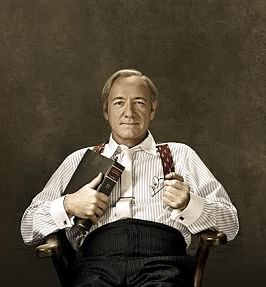 Kevin Spacey as Clarence Darrow at the Old Vic
