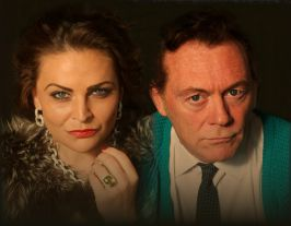 Liz and Dick cast Cast: Lydia Poole and Ken McConnell