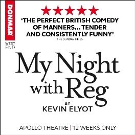 My Night With Reg at Apollo Theatre London