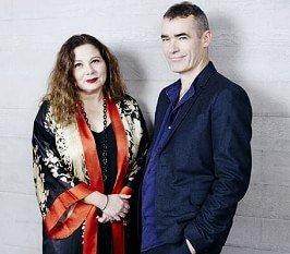 Chief Executive Designate Tessa Ross and Director Designate Rufus Norris