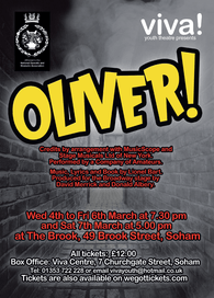Oliver with Viva Youth Theatre