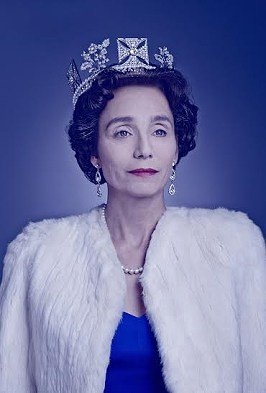 Kristin Scott Thomas as The-Queen in The Audience