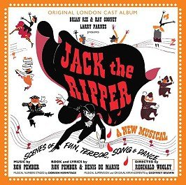 Jack The Ripper Musical CD Cover