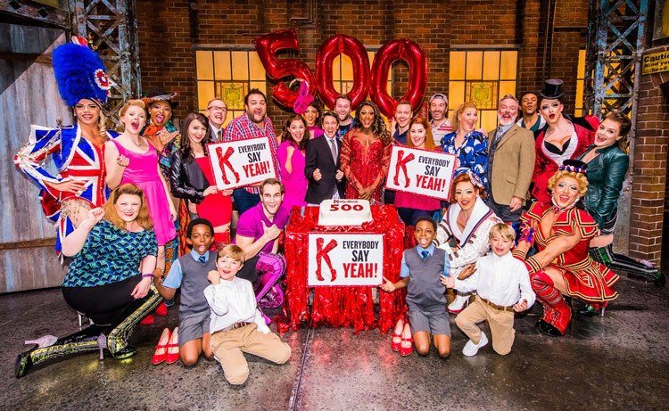 Kinky Boots celebrates 500th performance