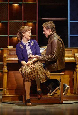 Katie Brayben as Carole King, Alan Morrissey as Gerry Goffin