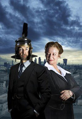 Clare Higgins and Greg Hicks star in Clarion