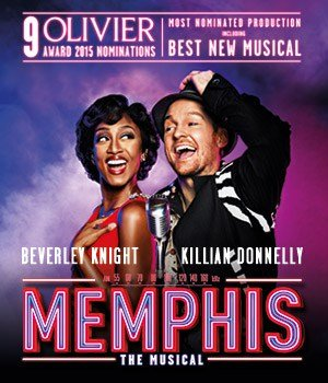 Memphis The Musical London Offer
