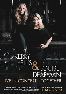 Kerry Ellis and Louise Dearman Live In Concert Together