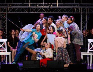 Godspell at Hackney empire