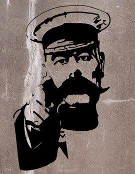 Kitchener Stencil